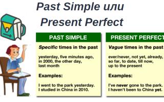 Past Simple или Present Perfect?