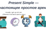 Всё о Present Simple