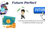 Уверенность в будущем – уверенный Future Perfect